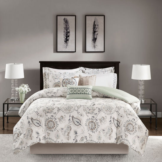 Madison Park Sharon Cotton 9-pc. Comforter Set