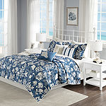 Madison Park Chatham Cotton 6-pc. Coverlet Set