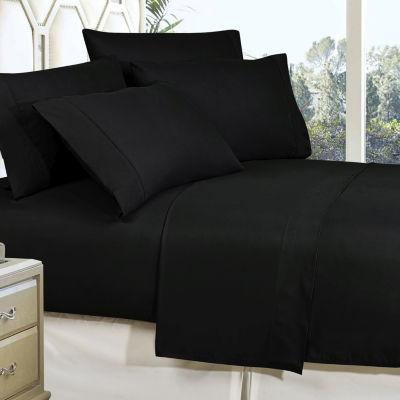 Lovely Elegant Comfort Wrinkle Free Silky Soft Bed Sheet Set With 16 Inch Deep  Pocket