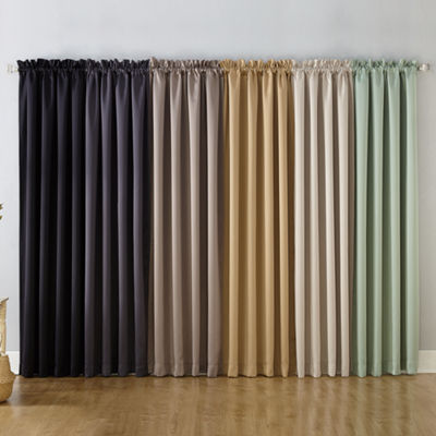 Sun Zero Oslo Extreme Blackout Poletop Curtain Panel