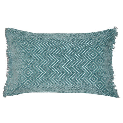 Diamond Zag Rectangular Throw Pillow