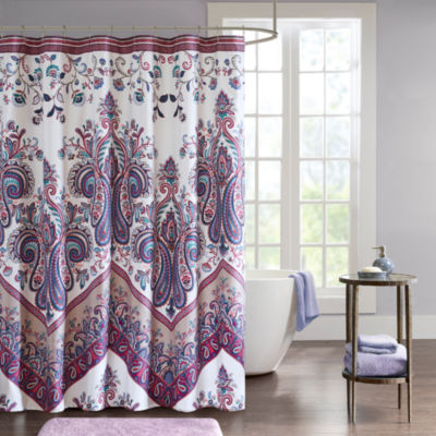Intelligent Design Layne Printed Shower Curtain
