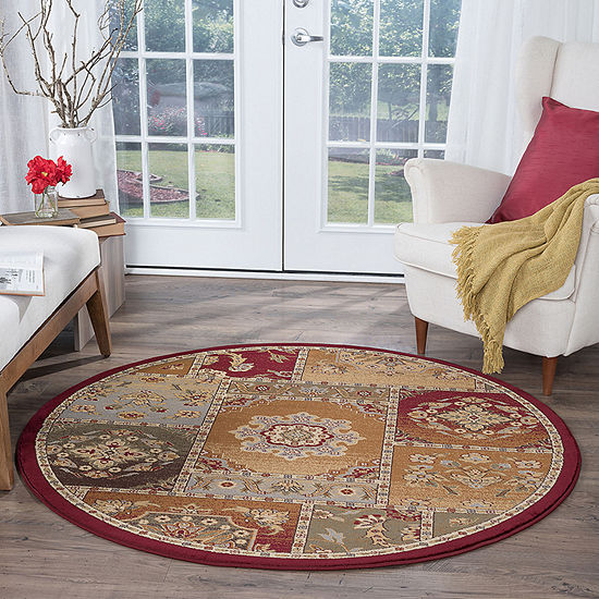 Tayse Impressions Chelsea Round Rugs