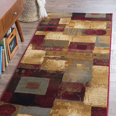 Tayse Impressions Donald Runner Rug