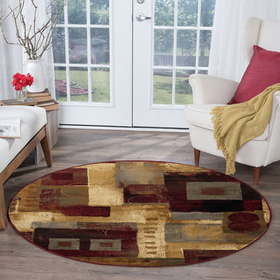 Tayse Impressions Donald Round Rugs