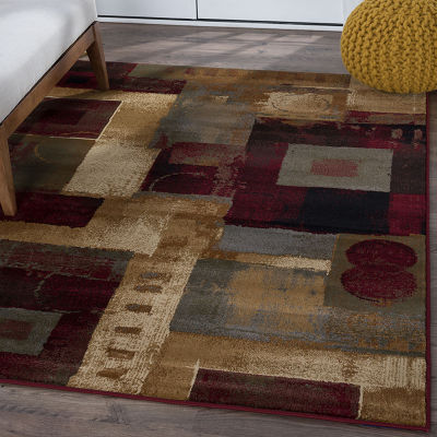 Tayse Impressions Donald Rectangular Indoor Rugs