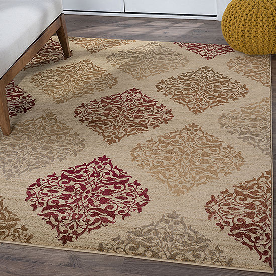 Tayse Impressions Monica Rectangular Indoor Rugs