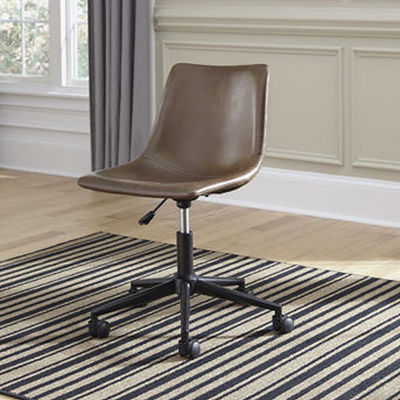 Signature Design by Ashley® Mid-Century Modern Home Office Swivel Desk Chair