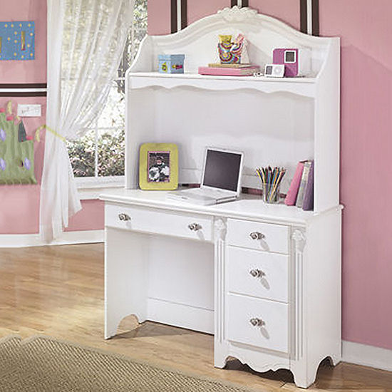 Signature Design by Ashley® Exquisite Bedroom Desk with Hutch