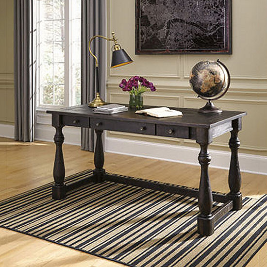 Signature Design By Ashley Mallacar Home Office Desk JCPenney - Ashley mallacar coffee table