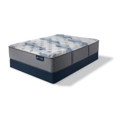 Serta Icomfort Blue Fusion 200 Plush Tight-Top Mattress + Box Spring