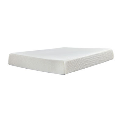 "Signature Design by Ashley® Chime 10"" Firm Memory Foam - Mattress Only"