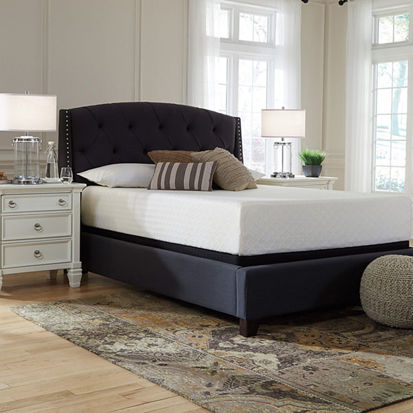 Signature Design By Ashley Chime 12 Firm Memory Foam Mattress Only