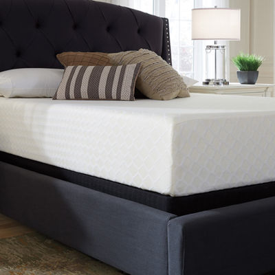 "Signature Design by Ashley® Chime 12"" Firm Memory Foam - Mattress Only"