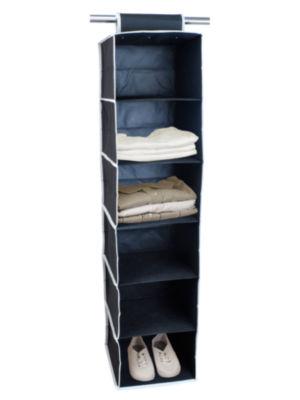 Sunbeam 6-Shelf Hanging Closet Organizer