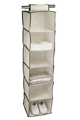 Sunbeam 6-Shelf Hanging Closet Organizer