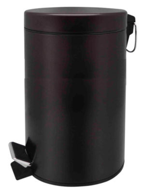 Home Basics 20-Liter Round Waste Bin