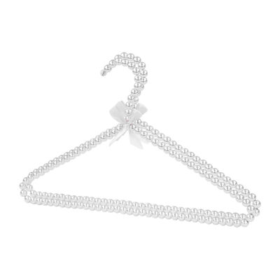 Home Basics Pearl Hangers, Pack of 2