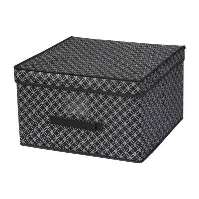 Home Basics Blossom Collection Jumbo Storage Box