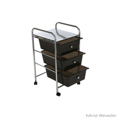 Mind Reader Storage Cart