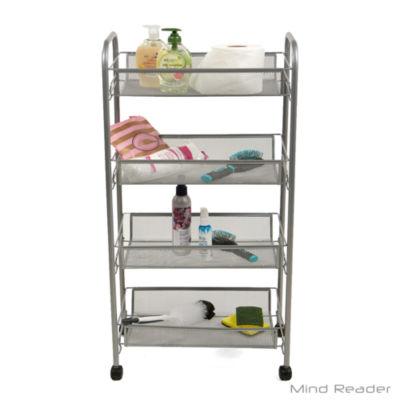 Mind Reader Shelf Cart