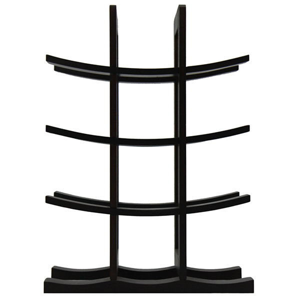 Oceanstar® 12-Bottle Dark Espresso Bamboo Wine Rack WR1132