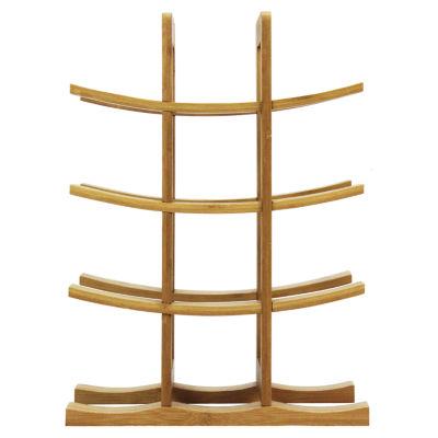 Oceanstar® 12-Bottle Natural Bamboo Wine Rack WR1149