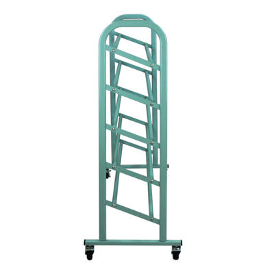 Oceanstar® Turquoise 5-Tier Metal Shoe Rack