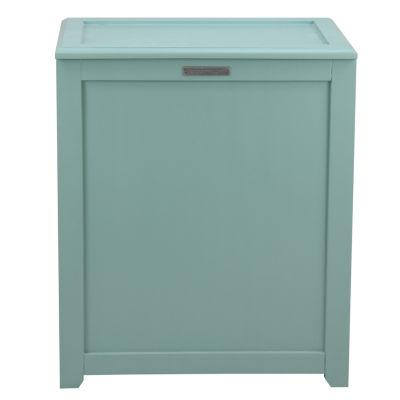 Oceanstar® Storage Turquoise Laundry Hamper