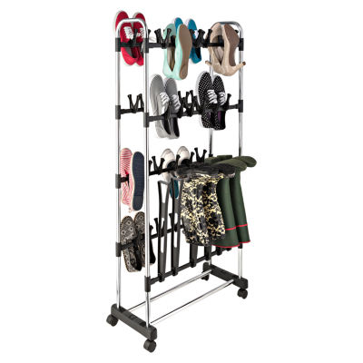 Honey-Can-Do® Shoe and Boot Holder Stand