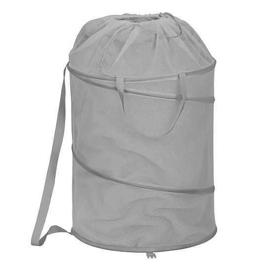 Honey-Can-Do® Pop-up Hamper with Backpack Strap