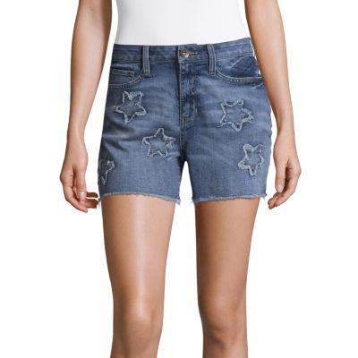"""a.n.a Star Denim Shorts (3 1/2"""")"""