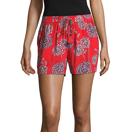 "a.n.a Printed Soft Shorts (3 1/2"")"