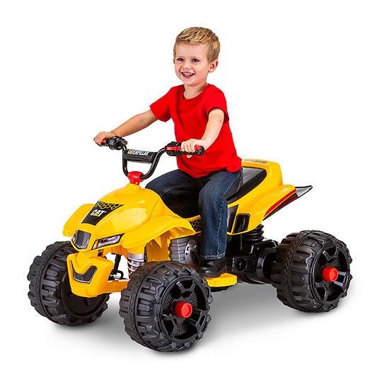 KidTrax CAT ATV Quad 12 Volt Electric Ride-on