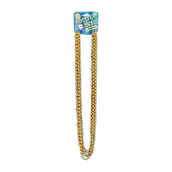 Metallic Gold Beads Dress Up Accessory