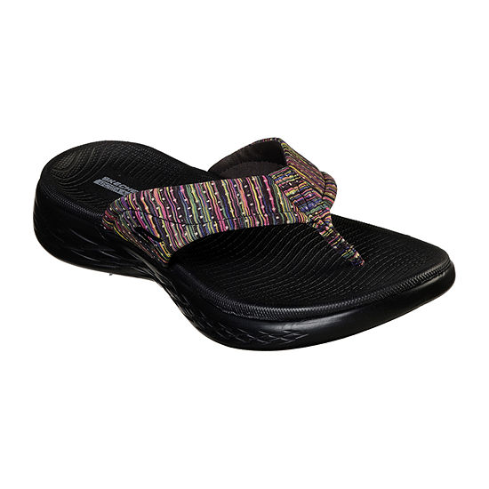 Skechers On The Go Shine Womens Footbed Sandals