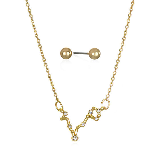 Mixit Pisces Constellation 2-pc. 16 Inch Pendant Necklace
