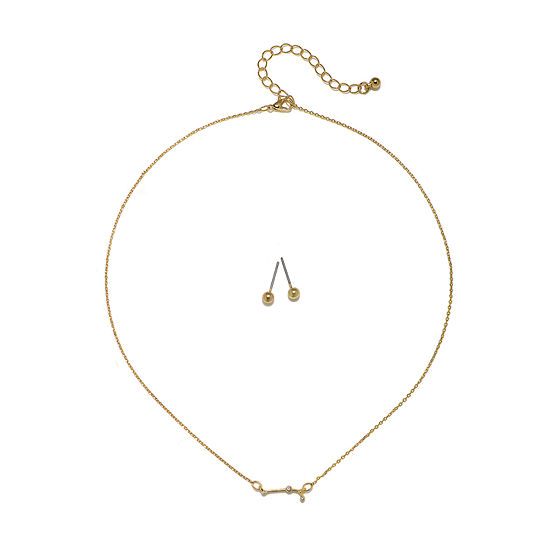 Bijoux Bar Aries Constellation 2-pc. 16 Inch Pendant Necklace