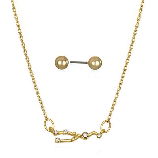 Mixit Taurus Constellation 2-pc. 16 Inch Pendant Necklace