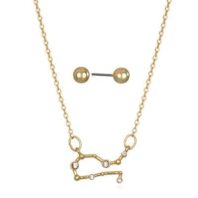 Mixit Gemini Constellation Womens Pendant Necklace
