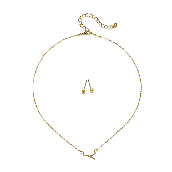 Mixit Cancer Constellation 2-pc. 16 Inch Pendant Necklace