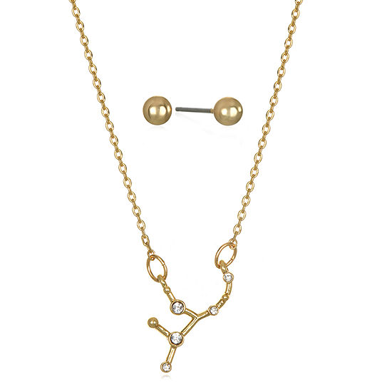 Bijoux Bar Virgo Constellation 2-pc. 16 Inch Chain Necklace