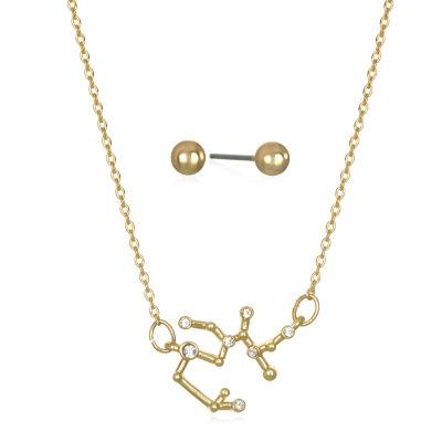 Mixit Sagittarius Constellation Womens Pendant Necklace