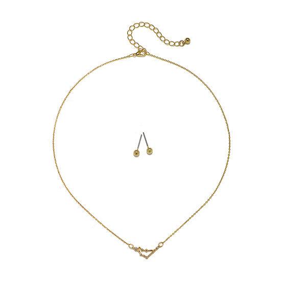 Mixit Capricorn Constellation Womens Pendant Necklace