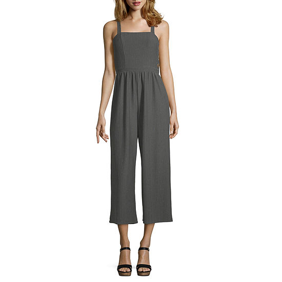 My Michelle Sleeveless Jumpsuit Juniors