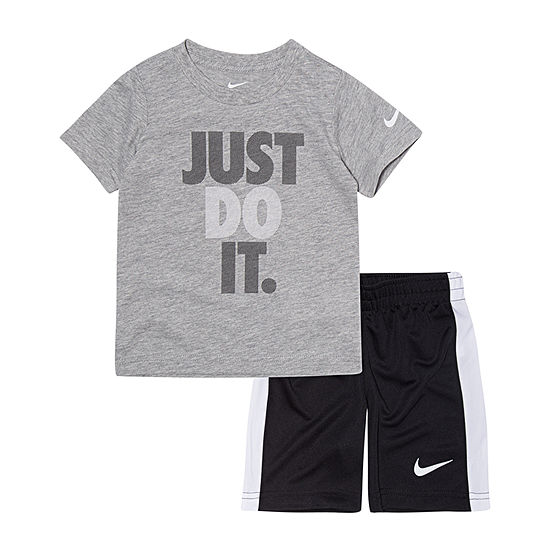 Nike 2 Pc Short Set Toddler Boys