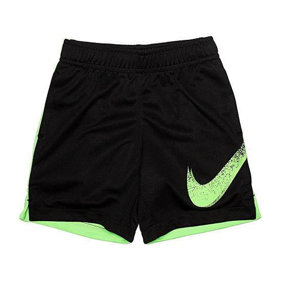 Nike Boys Elastic Waist Basketball Short - Toddler