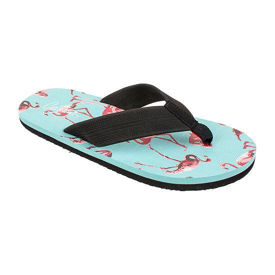 City Streets® Flamingo Filp Flops