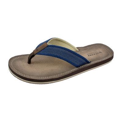 Dockers® Woven Strap Webbing Flip-Flops