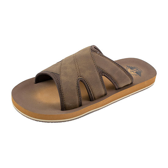 Dockers® Criss Cross Slide Sandals